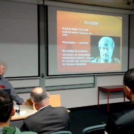 Otago Launch Event: Aristotle and neuroscience