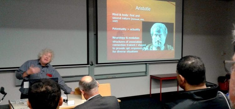 Otago Launch Event: Aristotle and neuroscience